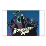 The NoWhere-Men Cliff Image Sticker (Rectangle)