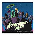 The NoWhere-Men Cliff Im Square Car Magnet 3