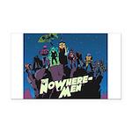The NoWhere-Men Cliff Image Rectangle Car Magnet