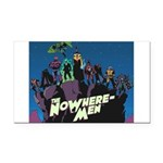 The NoWhere-Men Cliff Image Rectangle Car Magnet