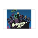 The NoWhere-Men Cliff Image 20x12 Wall Decal