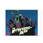 The NoWhere-Men Cliff Ima Postcards (Package of 8)