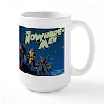 The NoWhere-Men Cliff Image Large Mug