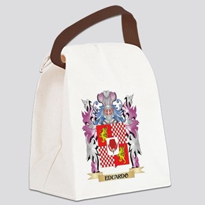 Eduardo Coat of Arms (Family Cres Canvas Lunch Bag