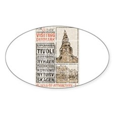 Monument Oval Sticker