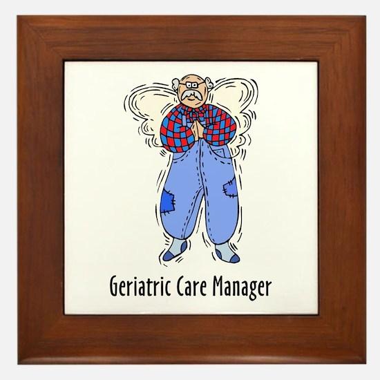 Geriatric CMM Angel Framed Tile