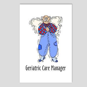 Geriatric CMM Angel Postcards (Package of 8)