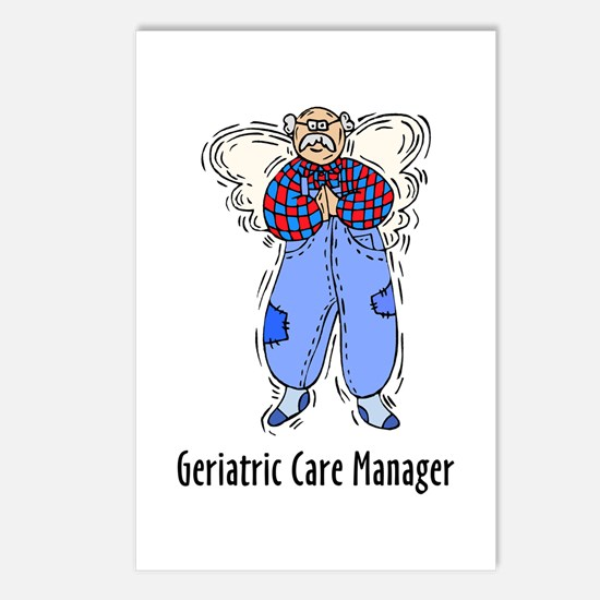 Geriatric CMM Angel Postcards (Package of 8)