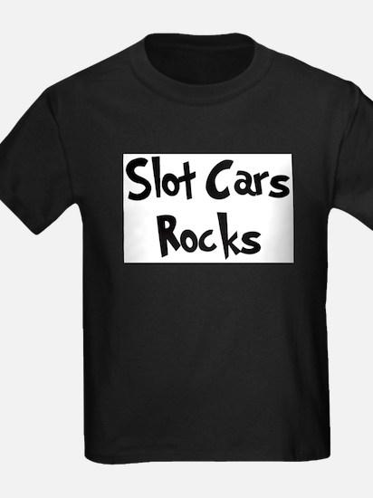 Slot Cars Rocks Ash Grey T-Shirt