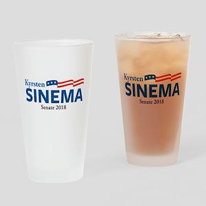 Kyrsten Sinema Drinking Glass