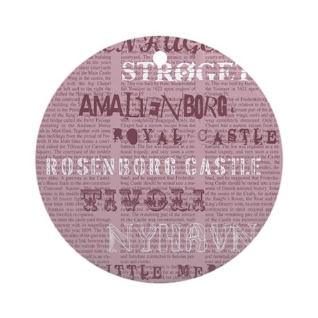 News Ornament (Round)