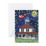 New Orleans Lighthouse Christmas Cards (Pk of 20
