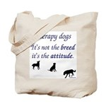 Best Therapy Breed Tote Bag