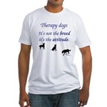 Best Therapy Breed Fitted T-Shirt