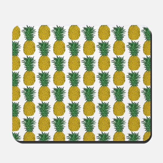 All Over Pineapple Pattern Mousepad