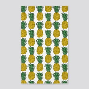All Over Pineapple Pattern Area Rug