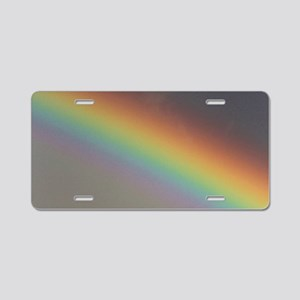 Rainbow Darkside Aluminum License Plate
