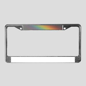 Rainbow Darkside License Plate Frame