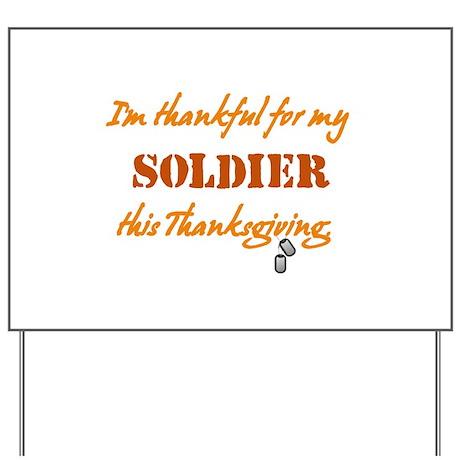 Soldier Yard Sign
