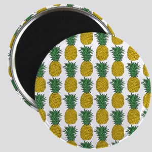 All Over Pineapple Pattern Magnets