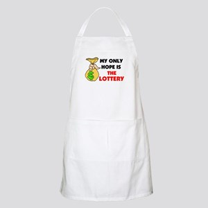 LOTTERY BBQ Apron