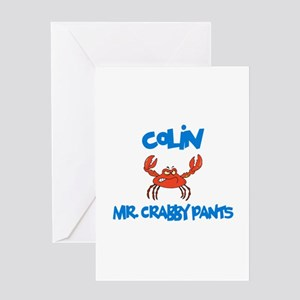 Colin - Mr. Crabby Pants Greeting Card