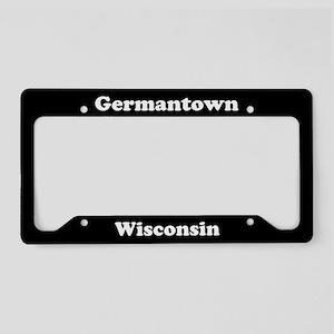 Germantown WI - LPF License Plate Holder