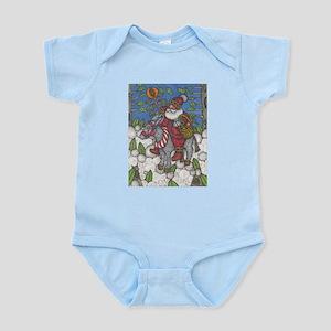 Santa Lights the Way Infant Bodysuit
