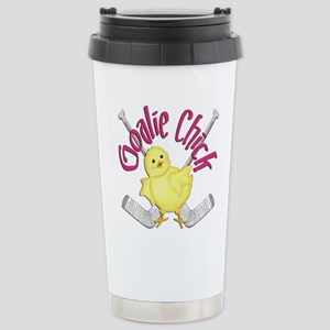 Goalie Chick Mugs