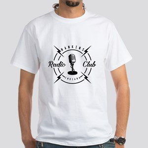 Hawkins Radio Club White T-Shirt
