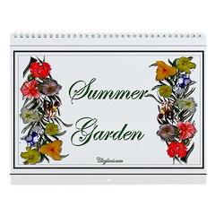 Flowers Of Summer Wall Calendar