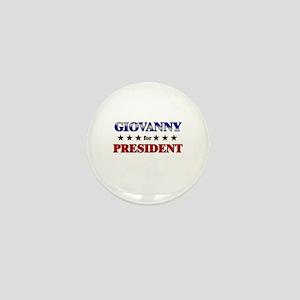 GIOVANNY for president Mini Button