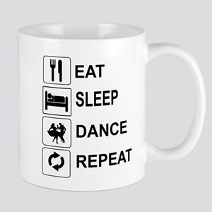 EAT, SLEEP, DANCE, REPEAT - SQUARE DANCE Mugs