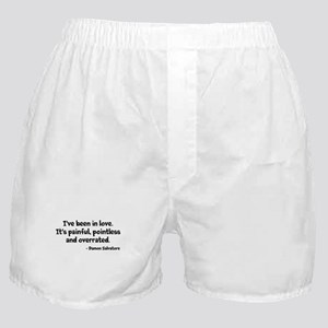 Damon Salvatore Quotes Boxer Shorts