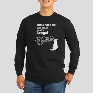 bengal glitter Long Sleeve T-Shirt