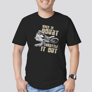 Dirt Bike T-Shirt Throttle It Out Tee Funn T-Shirt