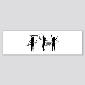 Hoops Bumper Sticker