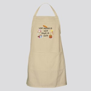 What Happens at Lolo's... BBQ Apron