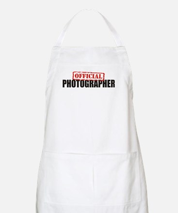 Official Photographer BBQ Apron