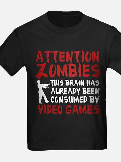 ZombiesVideoGames1E T-Shirt