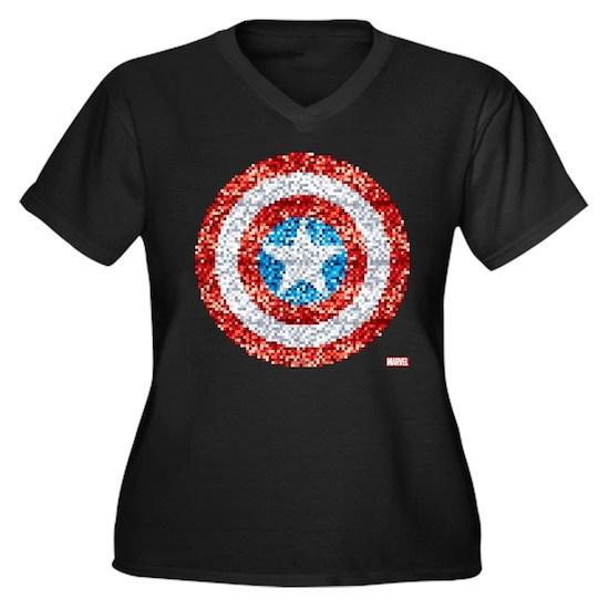 Captain America Pixel Shield