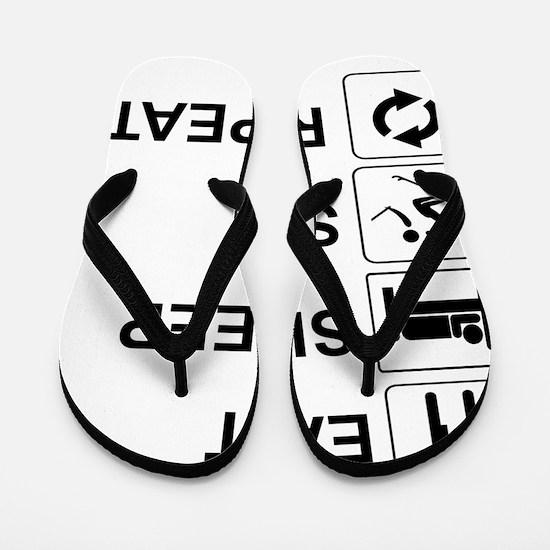 Eat and sleep Flip Flops