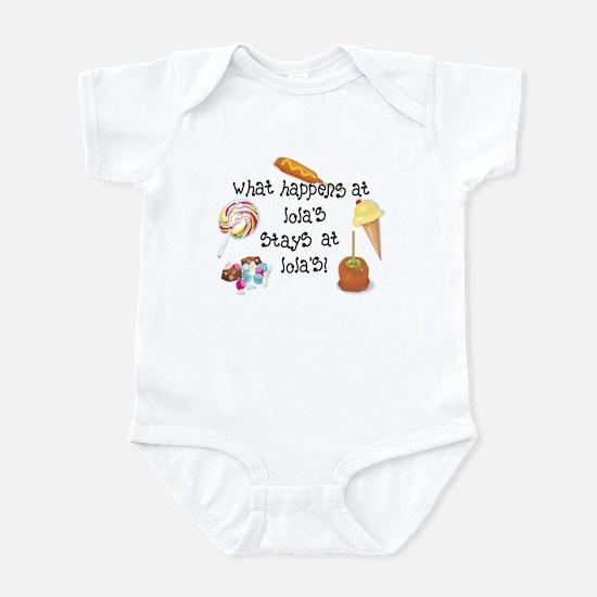What Happens at Lola's... Funny Infant Bodysuit