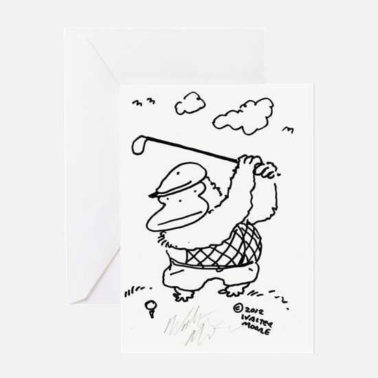 Unique Baggy Greeting Card