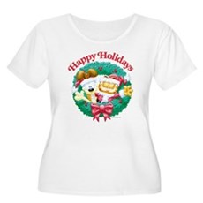 Garfield & Odie Happy Holidays Women's Plus Size S