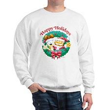 Garfield & Odie Happy Holidays Sweatshirt