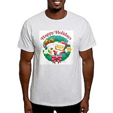 Garfield & Odie Happy Holidays Light T-Shirt