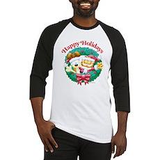 Garfield & Odie Happy Holidays Baseball Jersey