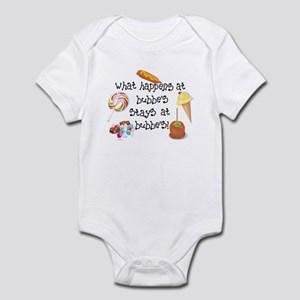What Happens at Bubbe's... Funny Infant Bodysuit