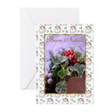 Italian christmas Greeting Cards (20 Pack)